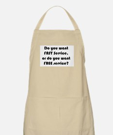 Here's a tip: Apron