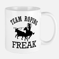 Team Roping Freak Mug