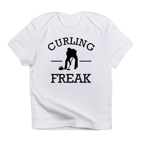 Curling Freak Infant T-Shirt