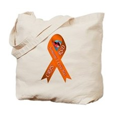 Someone I Love Has CRPS Red H Tote Bag