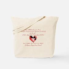 CRPS RSD I Choose Hope Over P Tote Bag