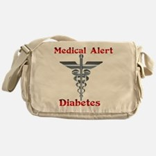 Diabetes Medical Alert Rod of Messenger Bag