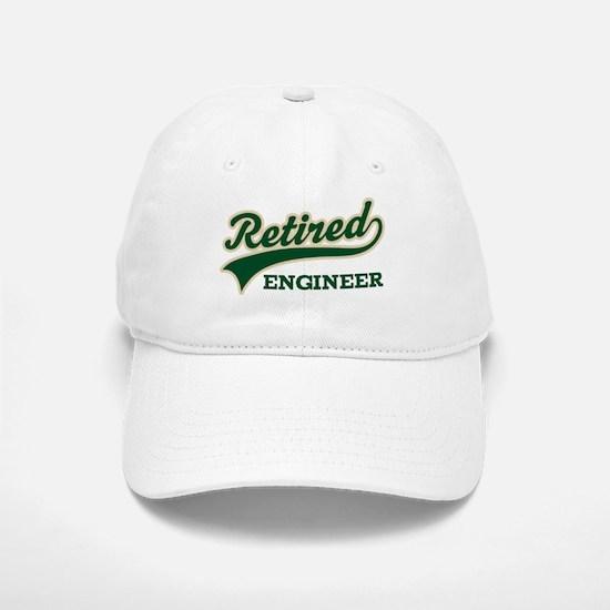Retired Engineer Gift Baseball Baseball Cap