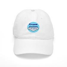 Blue Las Vegas Groom Baseball Cap