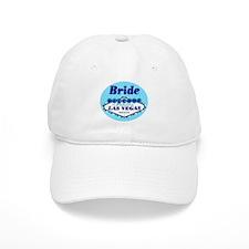 Blue Las Vegas Bride Baseball Cap