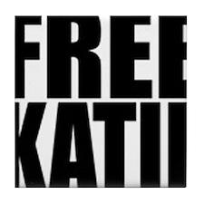 Free Katie Tile Coaster