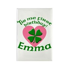 Emma Personalized Rectangle Magnet
