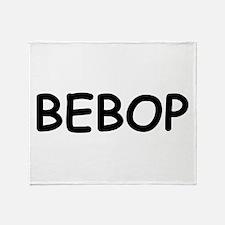 Bebop Throw Blanket