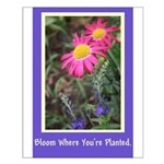 Affirmation Quote Floral Print