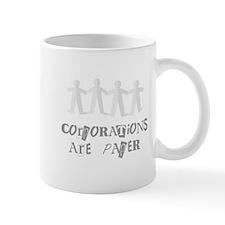 corporations are paper 01 Mug