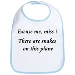 Snakes on this plane Bib
