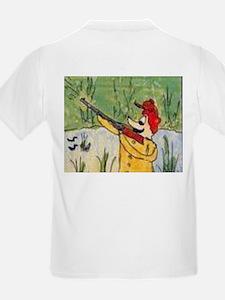 Hunting Comic Trouble T-Shirt