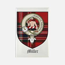 Miller Clan Crest Tartan Rectangle Magnet (10 pack