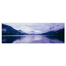 Crescent Lake Olympic National Park WA Framed Print
