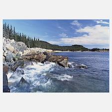 Maine, Acadia National Park, Atlantic Ocean, Rocks