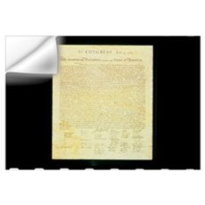 The Original Declaration of Independence Wall Decal