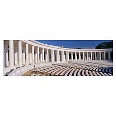Arlington National Cemetery Amphitheater Arlington Poster