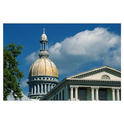 New Jersey State Capitol Trenton NJ Poster