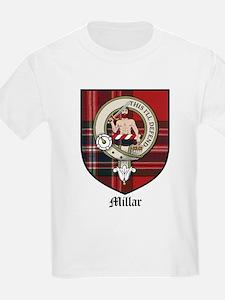Millar Clan Crest Tartan Kids T-Shirt