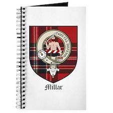 Millar Clan Crest Tartan Journal