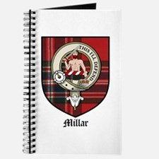 Millar Clan Crest Tartan Journal