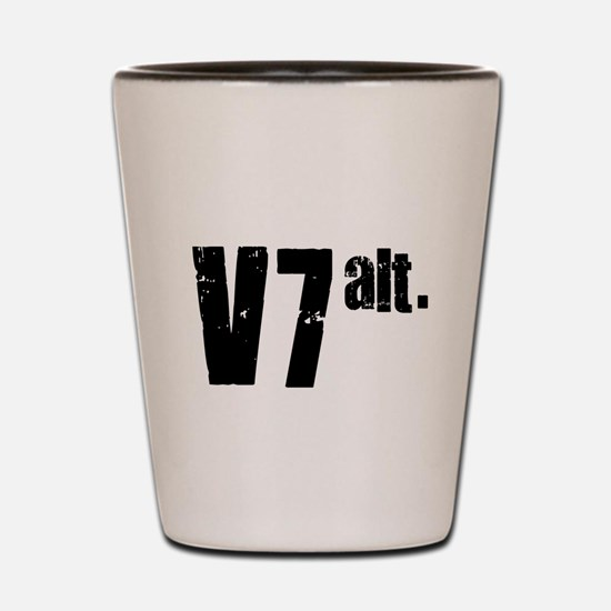 v7 alt. Shot Glass