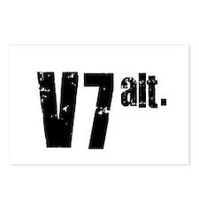 v7 alt. Postcards (Package of 8)