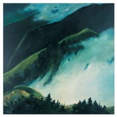 When Clouds are Rising from the Mountain Poster