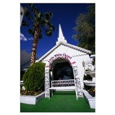 Little White Chapel Las Vegas NV Poster