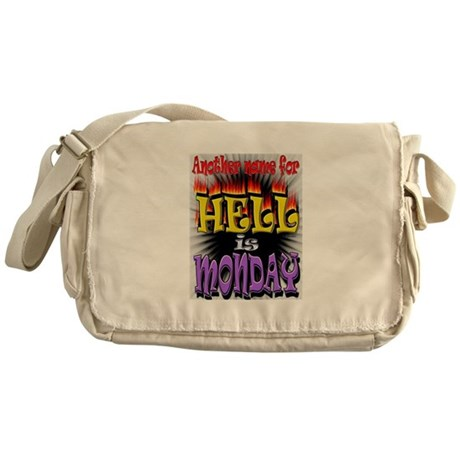 Monday is Hell Messenger Bag