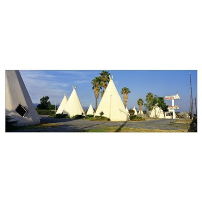 Route 66 Wigwam Motel Rialto CA Poster