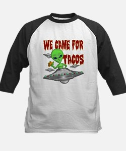 WE CAME FOR THE TACOS Baseball Jersey