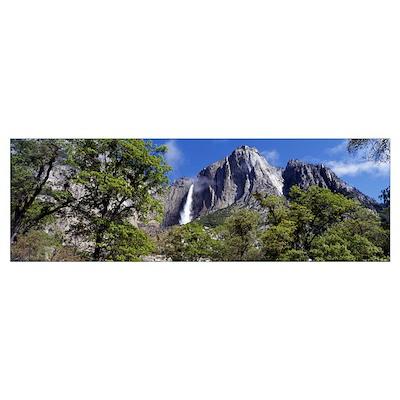 Yosemite Falls Yosemite National Park CA Poster