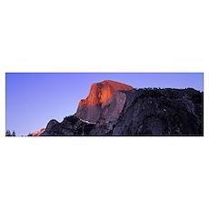 US, California, Yosemite National Park, Halfdome i Poster