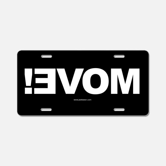 MOVE! - Front License Plate (Aluminum)