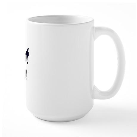 """""""Kant is the shit!"""" Large Mug"""