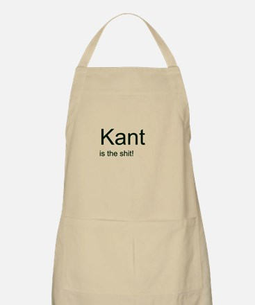 """Kant is the shit!"" Apron"