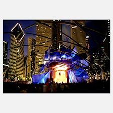 Illinois, Chicago, Millennium Park, Pritzker Pavil