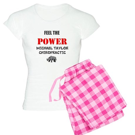 Feel the Power Women's Light Pajamas