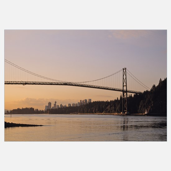 Canada, British Columbia, Vancouver, Lions Gate Br