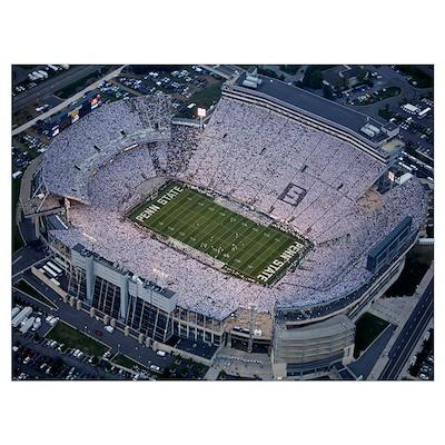 Penn State Versus Notre Dame, 2007 Poster