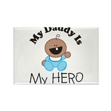 My Daddy Is My HERO (boy 1) Rectangle Magnet