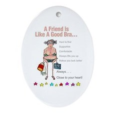 All Humor All The Time Ornament (Oval)