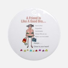 All Humor All The Time Ornament (Round)