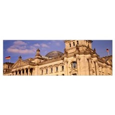 Germany, Berlin, Reichstag, glass dome Poster