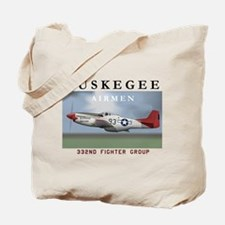 Cute Tuskegee airmen Tote Bag