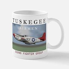 P51D 332nd FG Mugs