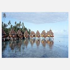 French Polynesia, Bora Bora, Lagoon Resort