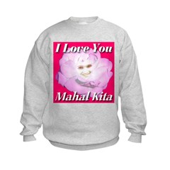Mahal Kita - I Love You Sweatshirt