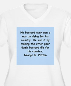 george s patton quotes T-Shirt